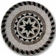 Mosaic Medallion, MM-GMCT-017