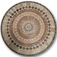 Mosaic Medallion, MM-GMCT-025