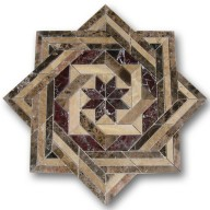 Mosaic Medallion, MM-GMMT-001