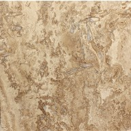 "Kremna Walnut - Travertine, 18""x18"", H/F"