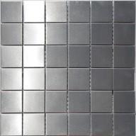 "Metal Mosaic - Stainless Steel - 2""x2"""