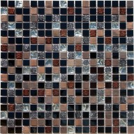 "Metal Mosaic - Diamond & Copper - 5/8""X5/8"""