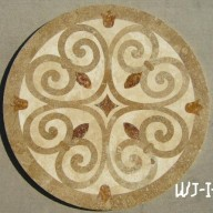Waterjet Medallion, WJCP-Italy-b-light