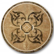 Waterjet Medallion, WJCB-Judy