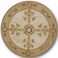 Waterjet Medallion, WJCH-Crown